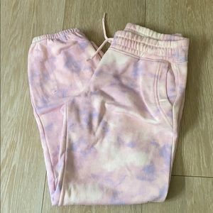 old navy trendy tie dye sweatpants